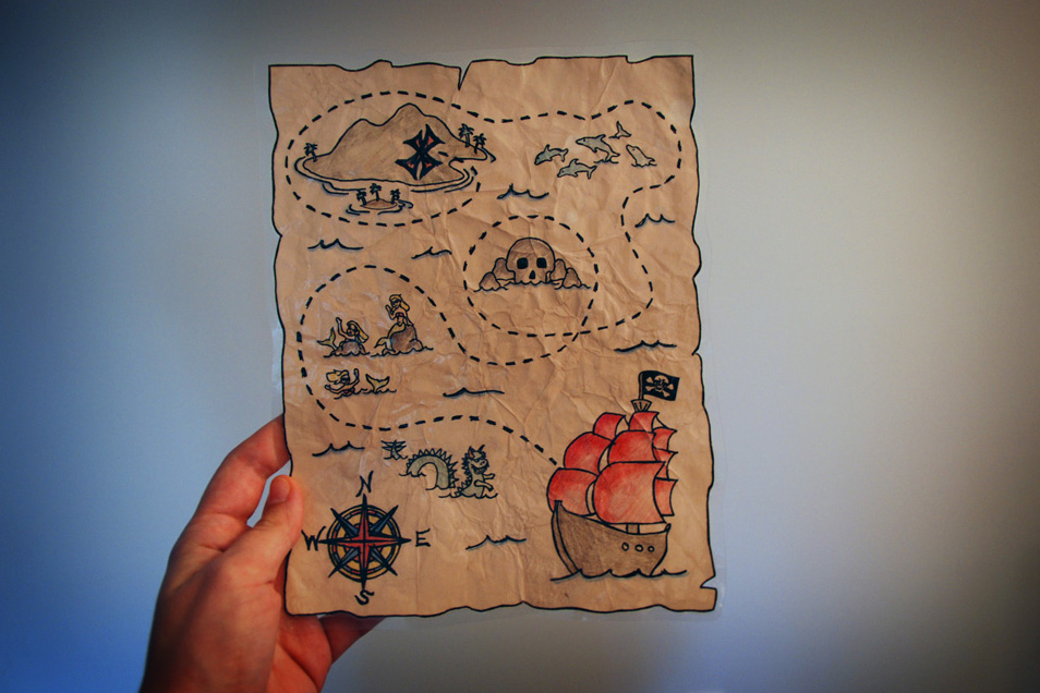 How To Make A Treasure Map How to make a treasure map |